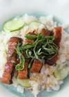 押麦入り酢飯で作る食感も楽しむうなぎ寿司
