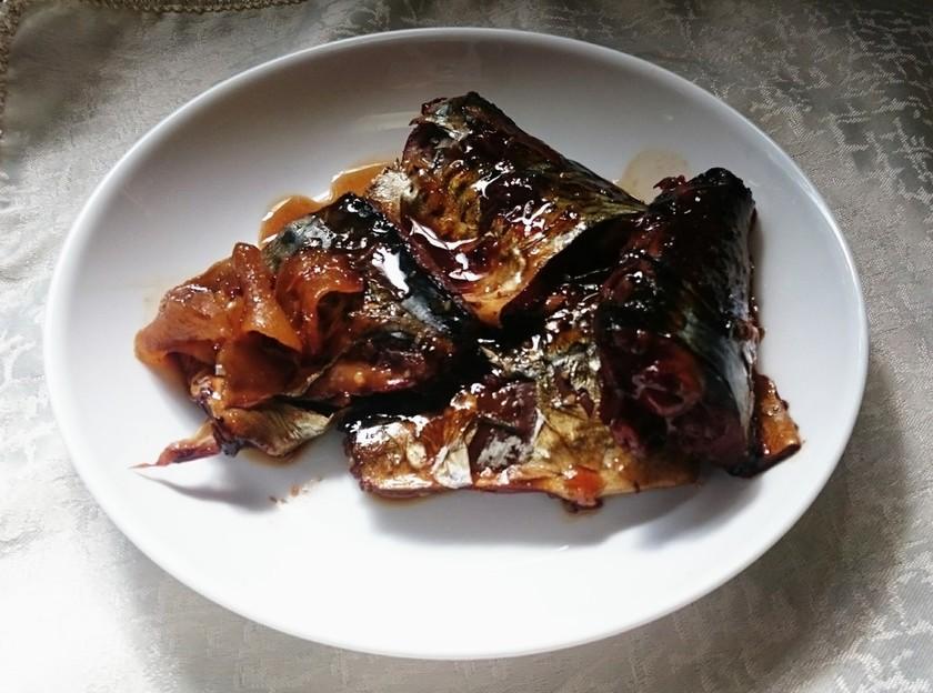 活力鍋でサバの味噌煮
