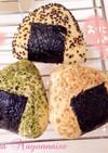 ヨーグルト効果パート2☆おにぎりパン☆