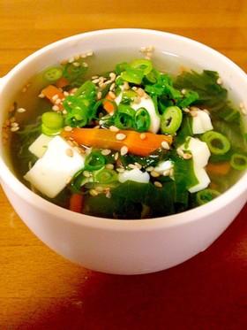 エコな和風スープ