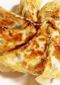 パリッ!ジュワ〜な手作り焼き餃子