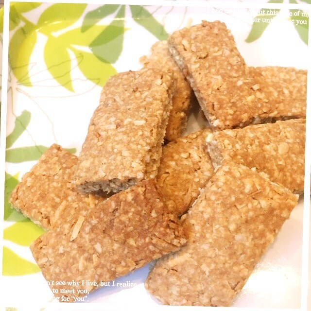 オートミールココナッツクッキー