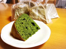 炊飯器で抹茶ケーキ*HM使用