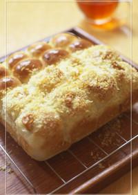カレー味♡魚肉ソーセージのちぎりパン