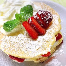 HM・ヨーグルトで ふわふわパンケーキ