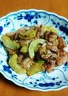豚肉と白瓜の味噌炒め(減塩レシピ)