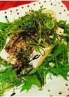 高タンパク☆豆腐と納豆の塩昆布サラダ