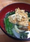 栄養満点!食べるきな粉味噌汁