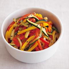 夏野菜のきんぴら