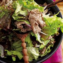 牛しゃぶのチョレギサラダ