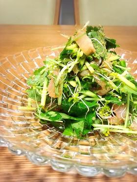 鯛と三つ葉の中華サラダ