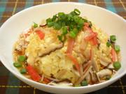お豆腐で☆ふわふわ天津飯の写真