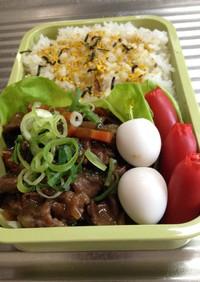 お弁当32★2016.6.8(牛肉甘辛煮