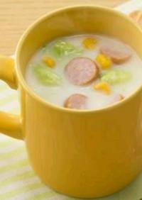 手作りシチューのマグカップスープ