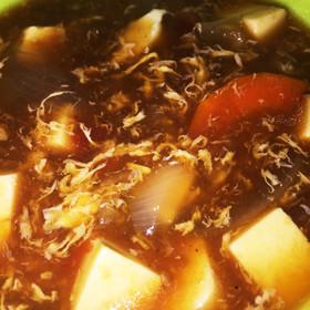 脂肪燃焼ダイエットスープ 酸辣湯風