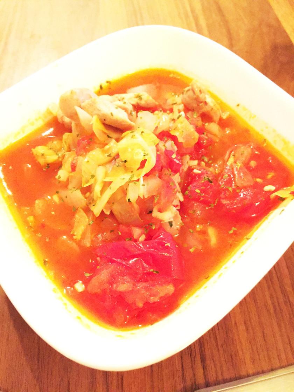 脂肪燃焼スープ 簡単 鶏肉入り 水いらず