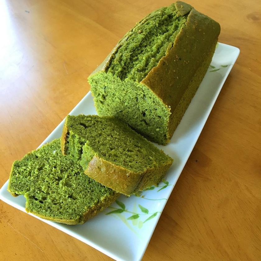 HMで簡単に☆抹茶のおからパウンドケーキ