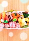お弁当簡単おかず可愛い隙き間飾りキャラ弁