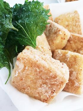 米粉で、サクッと揚げ出し豆腐♡