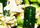 ♪野菜♪胡瓜とササミの梅味噌和え