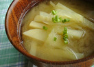 我家の味噌汁①~✿じゃがいも&玉ねぎ✿