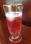 可愛い赤いKombucha(紅茶キノコ)