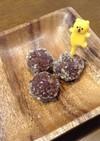 ココアとほうじ茶のすりゴマクッキー