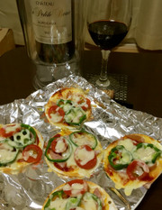 ミニピザ 超簡単!美味しい♡の写真
