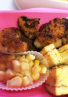 冷凍保存☆鶏むね肉塩麹焼き  お弁当に☆