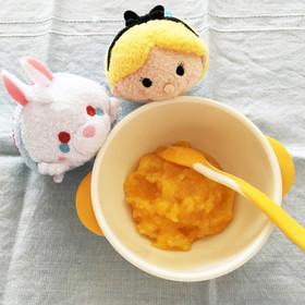 離乳食初期〜☆かぼちゃと人参のお粥☆