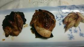 鶏もも肉の野菜巻き