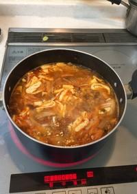 生餃子で*サンラータンスープ!