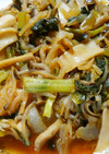簡単♪きのこと もやし 小松菜の野菜炒め