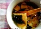 *昆布茶でスープ*