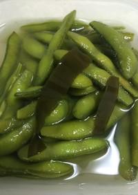 枝豆のわさび風味浅漬け 漬物の素不要