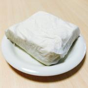 レンジで簡単時短*豆腐の水切りの写真