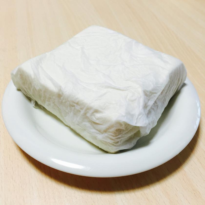 レンジで簡単時短*豆腐の水切り
