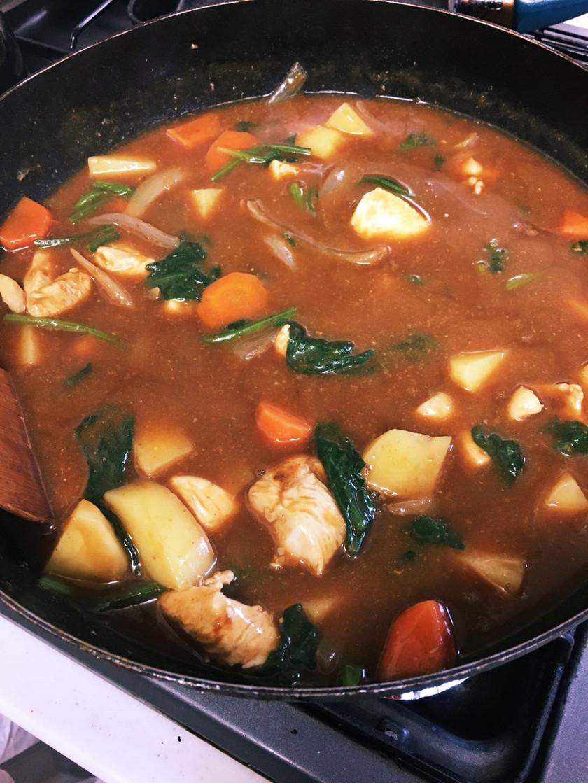 中華鍋で超時短☆カレー