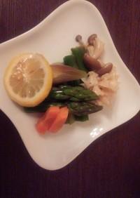 夏野菜のおひたしレシピ
