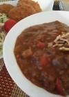 夏野菜と挽き肉のカレー