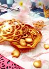 立体お絵描きラングドシャ(卵白クッキー)