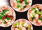 長芋、蛸 お好きな夏野菜でコロコロ酢の物