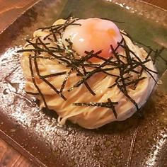 明太子カルボナーラ素麺、冷やしうどんにも
