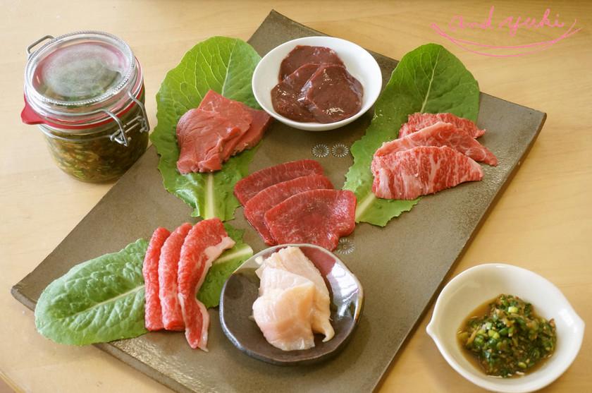 さっぱり食べるポン酢で食べる☆夏至の焼肉