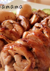 甜麺醤タレで簡単に作る♪鶏チャーシュー♪