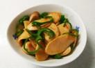 魚肉ソーセージとピーマンのカレー炒め