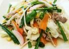 野菜たっぷりちゃんぽん風♡野菜炒め