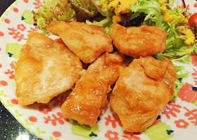 鶏むね肉で☆甘辛チキンソテー