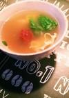 南高梅のレタススープ