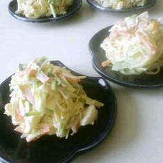 素麺の卵マヨサラダ